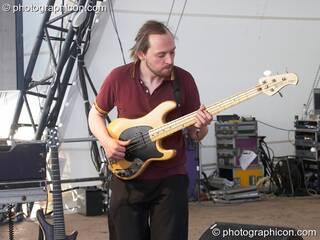 Squarepusher (Tom Jenkinson - Warp Records) performs on the Glade Stage at Glade Festival 2007. Aldermaston, Great Britain. © 2007 Photographicon