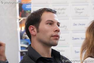 Andre Soldwedel at the Renaissance2 Great Shift Gathering 2009. Perpignan, France. © 2009 Photographicon