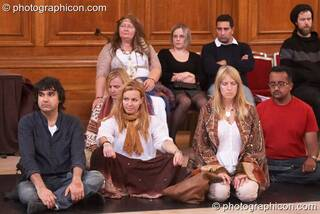 The participative audience at London Festival of Tantra 2009. Great Britain. © 2009 Photographicon