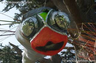 Insectoid site decoration at the Turaya Gathering 2004. Wimborne, Great Britain. © 2004 Photographicon