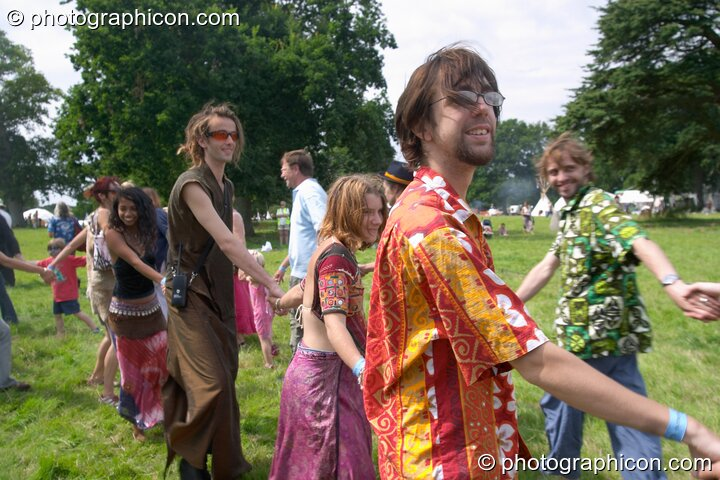 The Day Out Of Time ritual at the Turaya Gathering 2004. Wimborne, Great Britain. © 2004 Photographicon