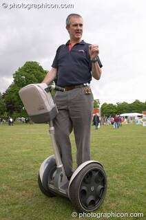 Segway Human Transporters at the London Green Lifestyle Show 2005. Great Britain. © 2005 Photographicon