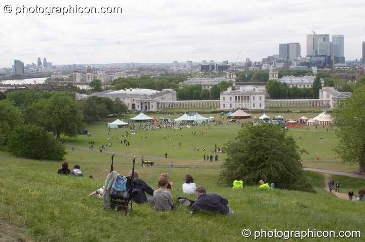 Queen's House in Greenwich Park at the London Green Lifestyle Show 2005. Great Britain. © 2005 Photographicon