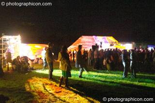 The main arena at Wing Makers Solstice 2005. Launceston, Great Britain. © 2005 Photographicon