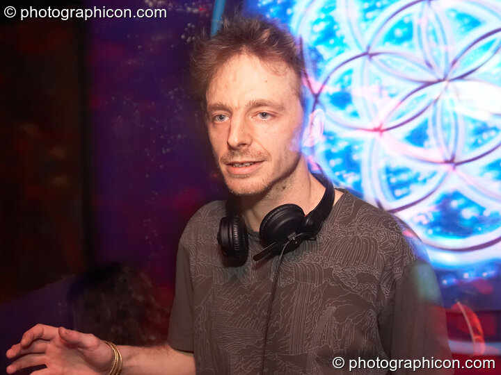 Jeremy DJing in the Main room at the Liquid Records party. London, Great Britain. © 2007 Photographicon