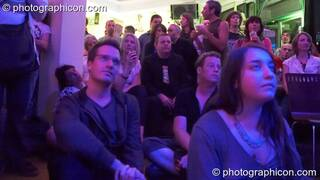 The audience enjoy Gong Poesy Electrique at inSpiral Lounge 21/08/2009. London, Great Britain. © 2009 Photographicon