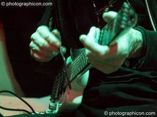 Daevid Allen performs at Gong Poesy Electrique at inSpiral Lounge 21/08/2009. London, Great Britain. © 2009 Photographicon