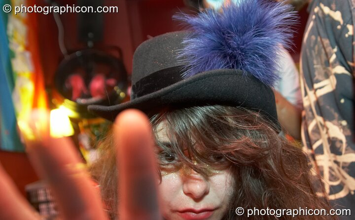 Colourful people at Electric Circus / Circus2Gaza. London, Great Britain. © 2009 Photographicon