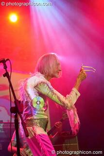 Daevid Allen of Planet Gong performs at the Kentish Town Forum. London, Great Britain. © 2009 Photographicon
