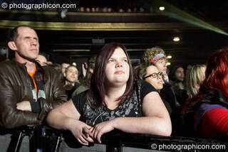 The audience enjoys Planet Gong at the Kentish Town Forum. London, Great Britain. © 2009 Photographicon