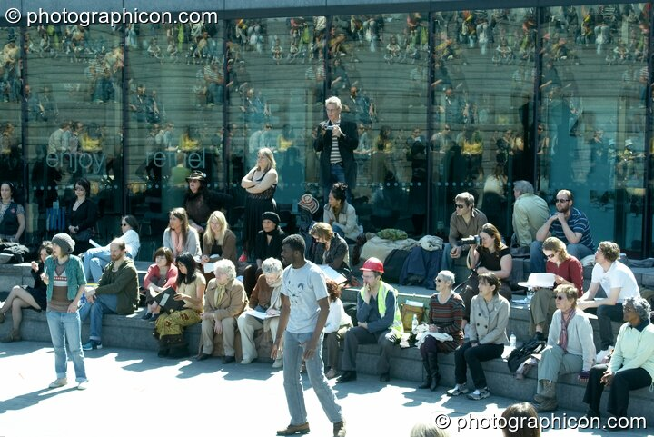 An open air public dress rehearsal of The Southwark Mysteries 2010. London, Great Britain. © 2010 Photographicon