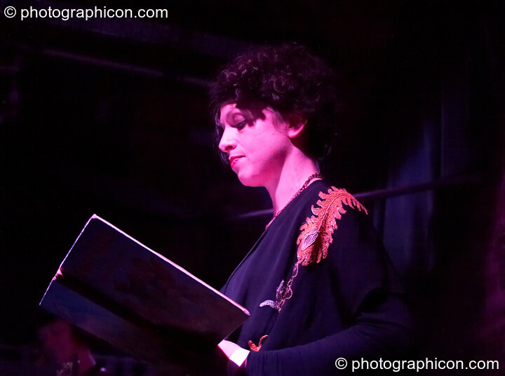 Vanessa of London Dreamtime performs at Halloween of the Cross Bones XIII. Great Britain. © 2010 Photographicon