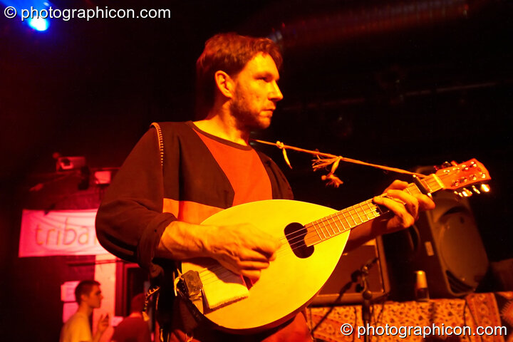 Mordekkers on the Ceilidh stage at The Synergy Project. London, Great Britain. © 2006 Photographicon