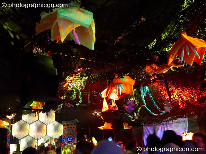 Decor and lighting in the Psycle space at The Synergy Project. London, Great Britain. © 2006 Photographicon