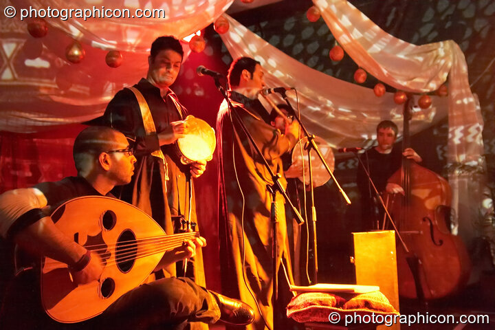 Taraweeh perform on the Silk Road Arts stage at The Synergy Project. London, Great Britain. © 2007 Photographicon