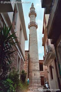 The spire at Rethymno. Greece. © 2002 Photographicon