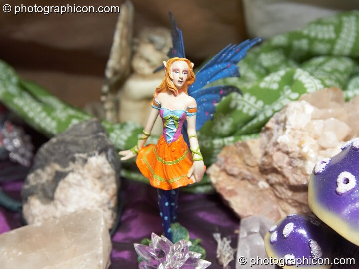 Crystals and inhabitance in the Fairy Room at the Kingston Goddess Temple. Kingston-upon-Thames, Great Britain. © 2007 Photographicon