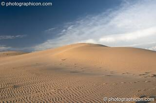 Sand dunes on a beach in Boesmansriviermond - Eastern Cape, South Africa. © 2005 Photographicon