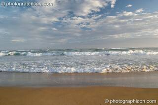 The sky, sea, sand horizon of Boesmansriviermond - Eastern Cape, South Africa. © 2005 Photographicon