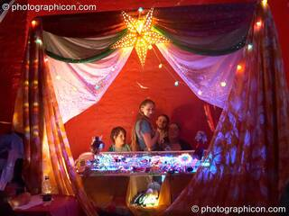 A stall in the Whirl-Y-Gig space at The Synergy Project. London, Great Britain. © 2006 Photographicon