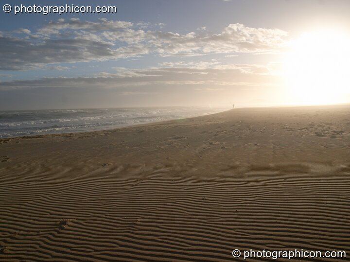 Wind-rippled sand on a beach in Boesmansriviermond - Eastern Cape, South Africa. © 2005 Photographicon